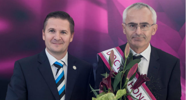 AAU Professor Awarded Honorary Doctorate by Tal Tech in Estonia