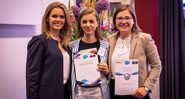 AAU student wins second place in European Sales Competition